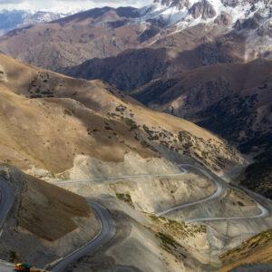 Taldyk pas, Kirgizië