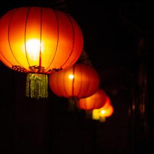 Paper lanterns, Jinzhong